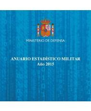 ANUARIO ESTADÍSTICO MILITAR. AÑO 2015