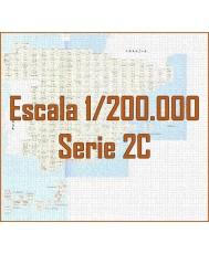 MAPA MILITAR DE ESPAÑA. Serie 2C (1:200.000)