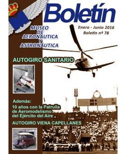 BOLETÍN DEL MUSEO DE AERONÁUTICA Y ASTRONÁUTICA