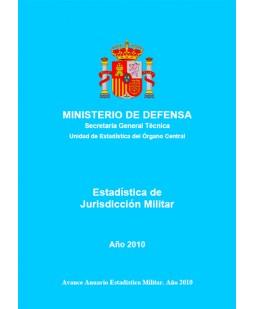 ESTADÍSTICA DE JURISDICCIÓN MILITAR 2010
