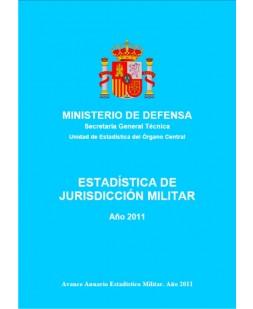 ESTADÍSTICA DE JURISDICCIÓN MILITAR 2011