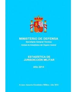 ESTADÍSTICA DE JURISDICCIÓN MILITAR 2014