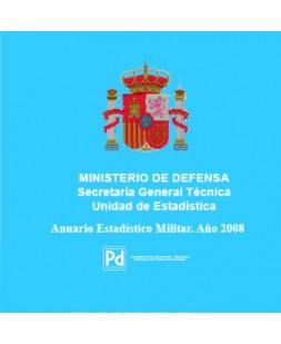 ANUARIO ESTADÍSTICO MILITAR 2008