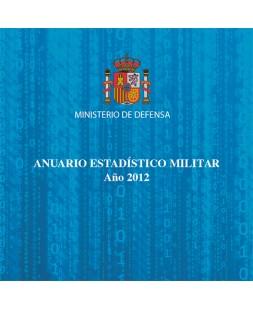 ANUARIO ESTADÍSTICO MILITAR. AÑO 2012