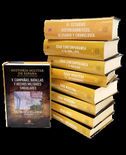 Historia militar de España. Obra completa (9 volúmenes)