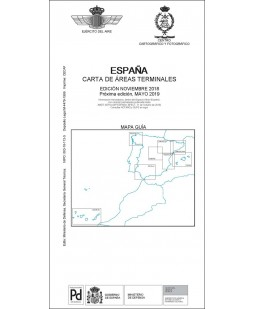 ESPAÑA. CARTA DE ÁREAS TERMINALES