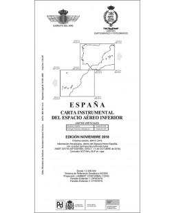 España. Carta instrumental del espacio aéreo inferior
