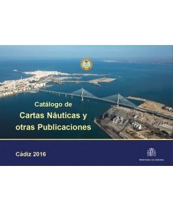 CATÁLOGO DE CARTAS NÁUTICAS Y OTRAS PUBLICACIONES 2016