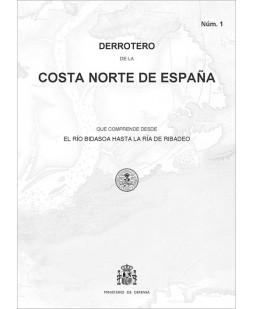 Derrotero de la costa norte de España. Núm. 1. 4ª edición 2019