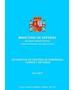 ESTADÍSTICA DE CENTROS DE ENSEÑANZA, CURSOS Y ESTUDIOS 2017