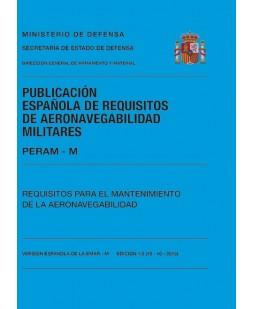 PERAM-M. REQUISITOS PARA EL MANTENIMIENTO DE LA AERONAVEGABILIDAD. EDICIÓN 1.0