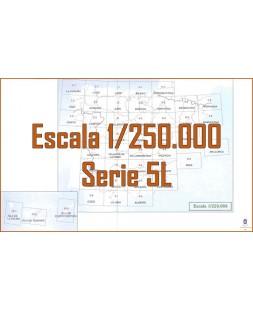MAPA MILITAR DE ESPAÑA. Serie 5L