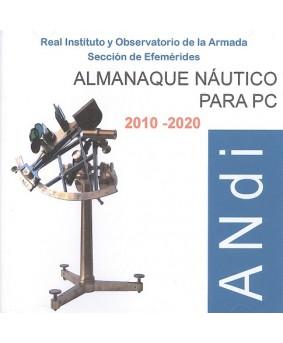 ALMANAQUE NÁUTICO PARA PC 2010-2020 (CD-ROM)