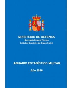 ANUARIO ESTADÍSTICO MILITAR. AÑO 2016