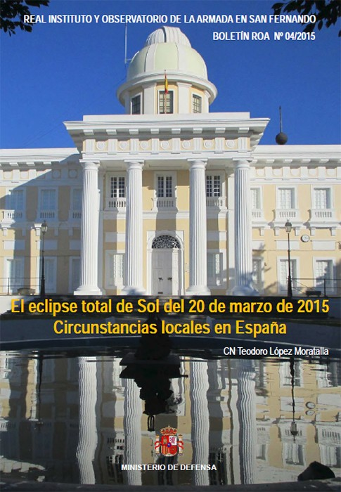 El eclipse total de sol del 20 de marzo de 2015. Circunstancias locales en España 04/2015