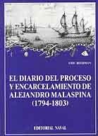 DIARIO DEL PROCESO Y ENCARCELAMIENTO DE ALEJANDRO MALASPINA (1794-1803), EL