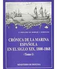 CRÓNICA DE LA MARINA ESPAÑOLA EN EL SIGLO XIX (1800-1868)