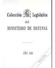 COLECCIÓN LEGISLATIVA DEL MINISTERIO DE DEFENSA. AÑO 2000 (Papel y CD-ROM)