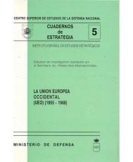 UNIÓN EUROPEA OCCIDENTAL (UEO) (1955-1988)