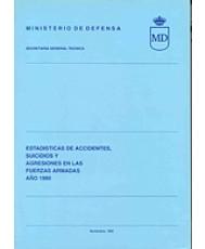 ESTADÍSTICA DE ACCIDENTES, SUICIDIOS Y AGRESIONES EN LAS FUERZAS ARMADAS 1990