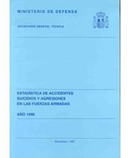 ESTADÍSTICA DE ACCIDENTES, SUICIDIOS Y AGRESIONES EN LAS FUERZAS ARMADAS 1996
