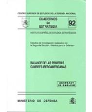 BALANCE DE LAS PRIMERAS CUMBRES IBEROAMERICANAS