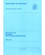 ESTADÍSTICA DE RECURSOS CONTENCIOSO-ADMINISTRATIVOS 2001
