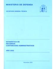 ESTADÍSTICA DE RECURSOS CONTENCIOSO-ADMINISTRATIVOS 2002