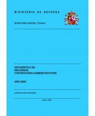 ESTADÍSTICA DE RECURSOS CONTENCIOSO-ADMINISTRATIVOS 2005