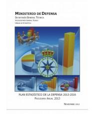 PLAN ESTADÍSTICO DE LA DEFENSA 2013-2016: PROGRAMA ANUAL 2013