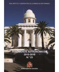 FENÓMENOS ASTRONÓMICOS 2015-2016