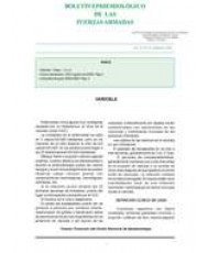 BOLETÍN EPIDEMIOLÓGICO DE LAS FUERZAS ARMADAS. VOL. 15. Nº 179. SEPTIEMBRE 2008
