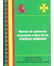 MANUAL DE ASISTENCIA AL PACIENTE CRÍTICO DE LAS FUERZAS ARMADAS