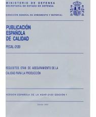 PECAL 2120. REQUISITOS OTAN DE ASEGURAMIENTO DE LA CALIDAD PARA LA PRODUCCIÓN