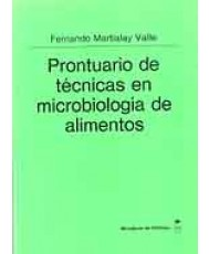 PRONTUARIO DE TÉCNICAS EN MICROBIOLOGÍA DE ALIMENTOS