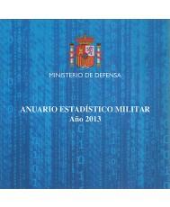 ANUARIO ESTADÍSTICO MILITAR. AÑO 2013