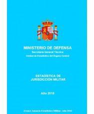 ESTADÍSTICA DE JURISDICCIÓN MILITAR 2016