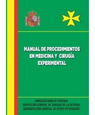 MANUAL DE PROCEDIMIENTOS EN MEDICINA Y CIRUGÍA EXPERIMENTAL