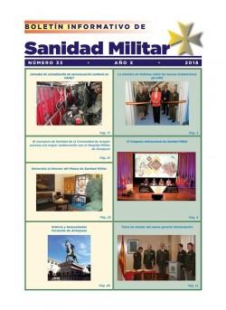 BOLETÍN INFORMATIVO DE SANIDAD MILITAR