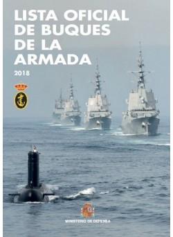 LISTA OFICIAL DE BUQUES DE LA ARMADA 2018