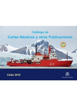 CATÁLOGO DE CARTAS NÁUTICAS Y OTRAS PUBLICACIONES 2018
