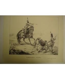 CABALLERIA LIGERA (1830), LAMINA