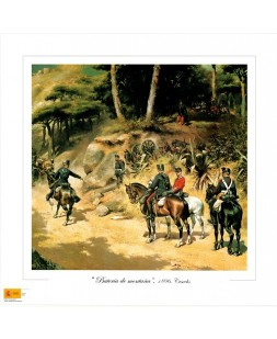 BATERIA DE MONTAÑA 1896 (COLOR)