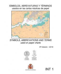 Símbolos, abreviaturas y términos usados en las cartas náuticas. 6 ª edición 2018