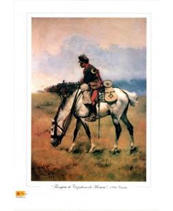 TROMPETA CAZADORES MONTESA 1896 (COLOR)