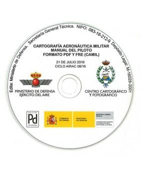 CARTOGRAFÍA AERONÁUTICA MILITAR: MANUAL DEL PILOTO. 08/16