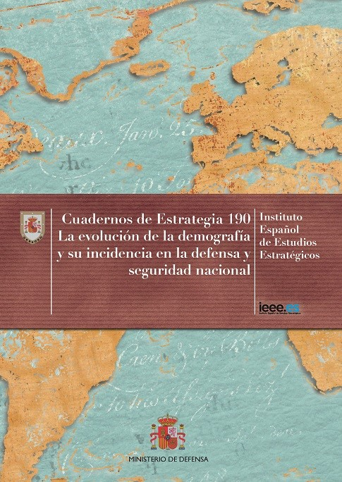 LA EVOLUCIÓN DE LA DEMOGRAFÍA Y SU INCIDENCIA EN LA DEFENSA Y SEGURIDAD NACIONAL. Nº 190