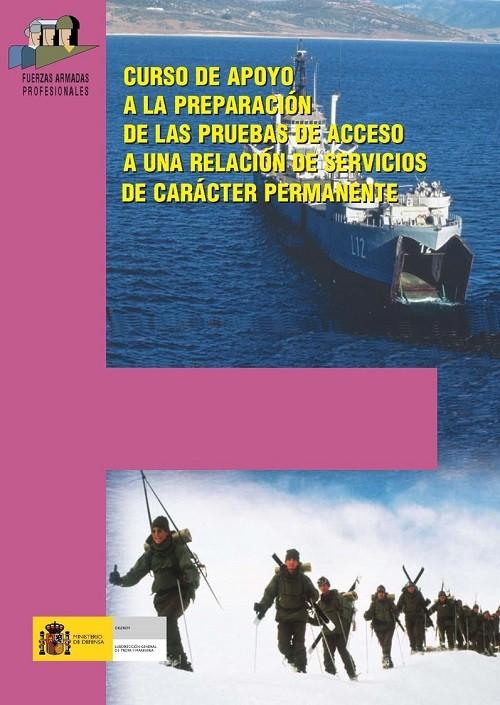 CURSO DE APOYO A LA PREPARACIÓN DE LAS PRUEBAS DE ACCESO A UNA RELACIÓN DE SERVICIOS DE CARÁCTER PERMANENTE 2010/2011