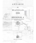 ANUARIO DE MAREAS REGIONAL 4. DE LA DESEMBOCADURA DEL RÍO GUADIANA AL ESTRECHO DE GIBRALTAR. 2020