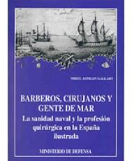 BARBEROS, CIRUJANOS Y GENTES DE MAR